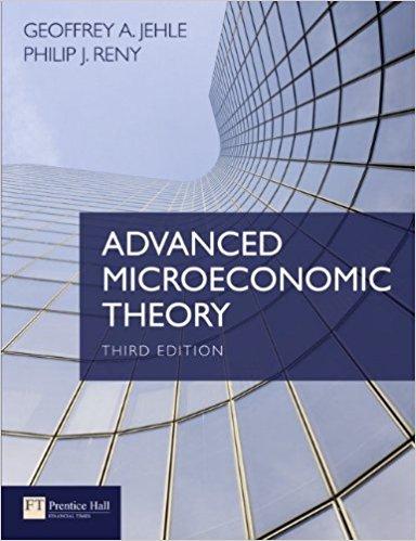 دانلود کتاب نظریه اقتصاد خرد پیشرفته Jehle و Reny - ویرایش سوم