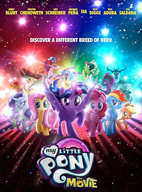 دانلود انیمیشن پونی کوچولوی من My Little Pony: The Movie 2017 دوبله فارسی