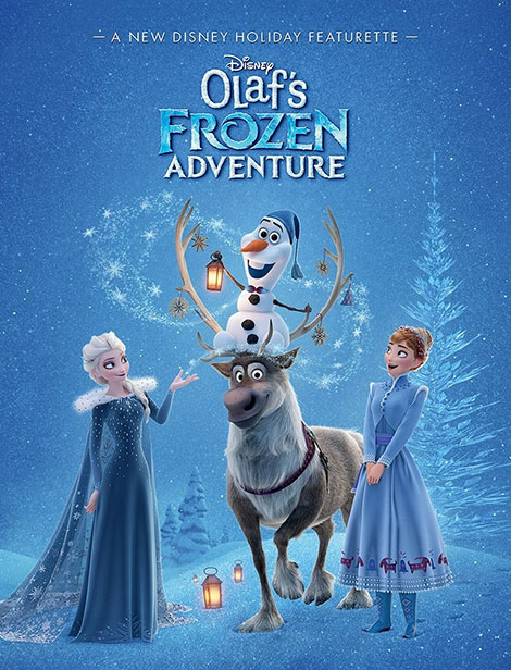 دانلود انیمیشن ماجراهای اولاف فروزن Olafs Frozen Adventure 2017 دوبله فارسی