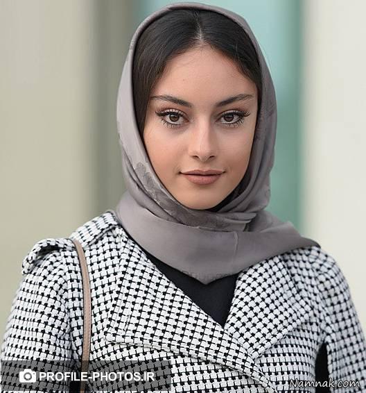 عکس ترلان پروانه دختر زیبای ایران با مدل موهای فر
