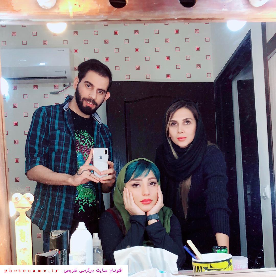 سحر نظام دوست و شوهرش