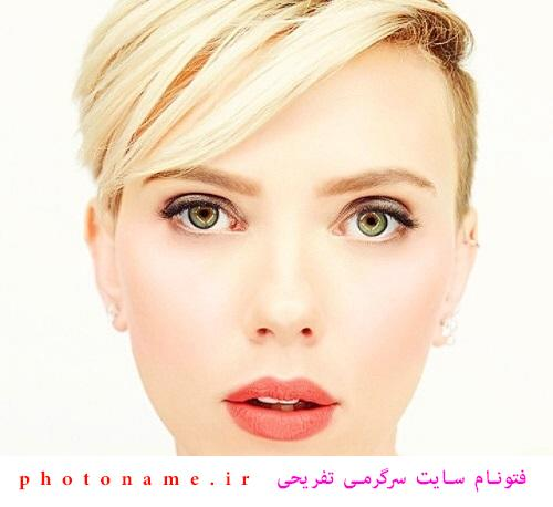 بدون آرایش اسکارلت جوهانسون