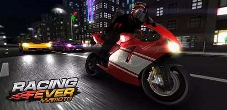 دانلود بازی موتور سواری برای اندروید -  Racing Fever: Moto v1.2.5