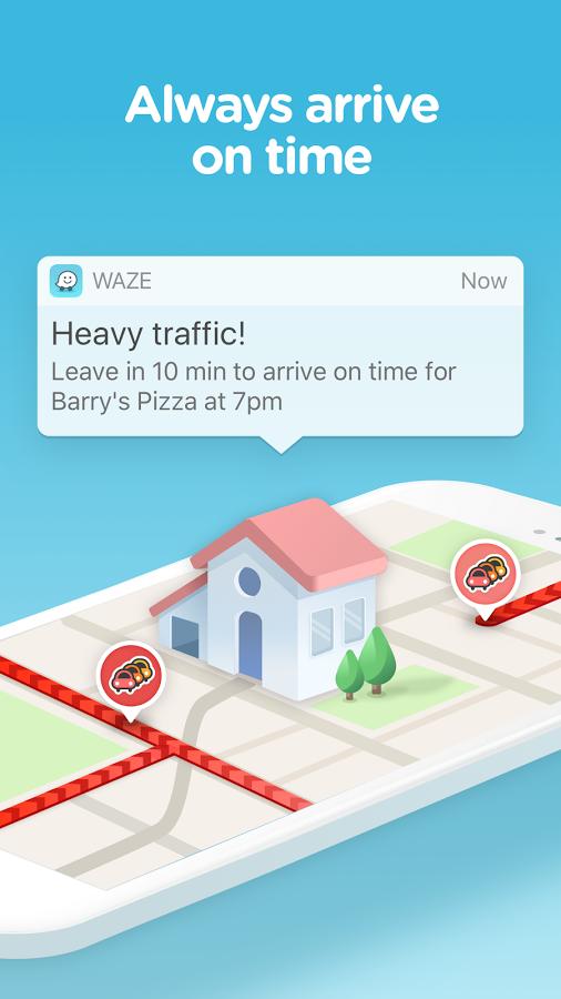 دانلود رایگان برنامه مسیریاب ویز Waze - GPS, Maps, Traffic Alerts & Live Navigation