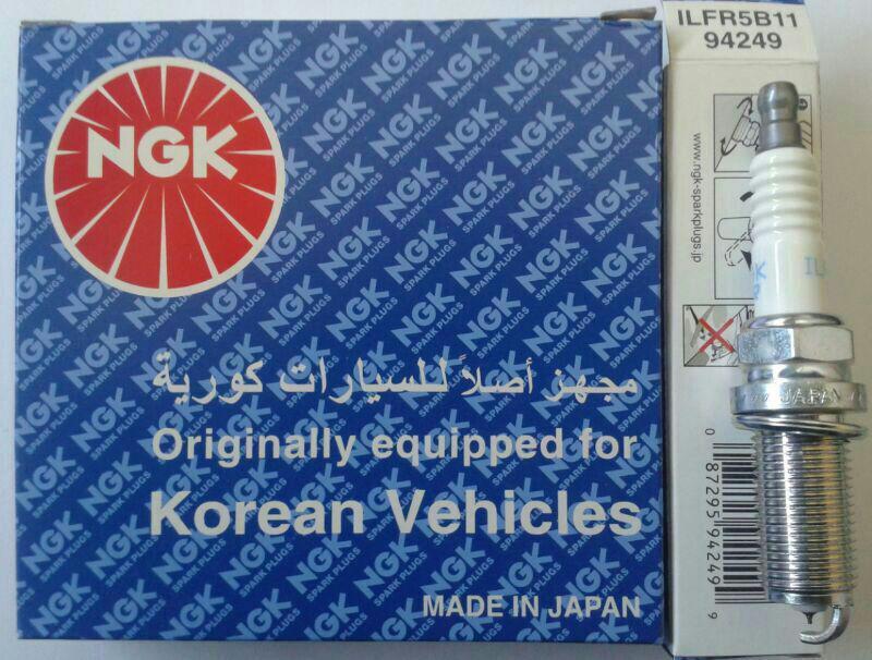 شمع NGK لیزر ایریدیوم جعبه آبی پایه بلند اصلی ژاپنی