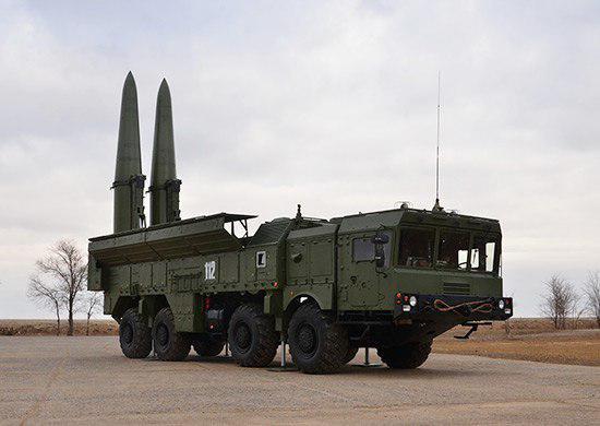 موشک بالستیک Iskander-M روسیه