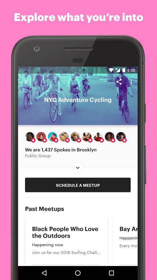 دانلود رایگان برنامه میت آپ Meetup