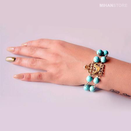خرید دستبند مرغ آمين جدید طرح شهرزاد 2