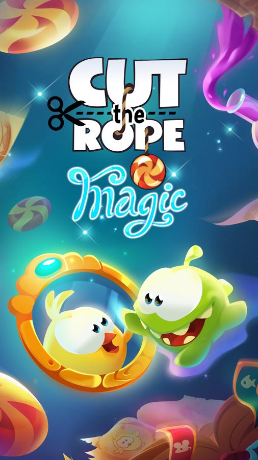 دانلود بازی بریدن تناب : جادویی Cut the Rope: Magic