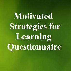 دانلود پرسشنامه راهبردهای خودانگیخته برای یادگیری