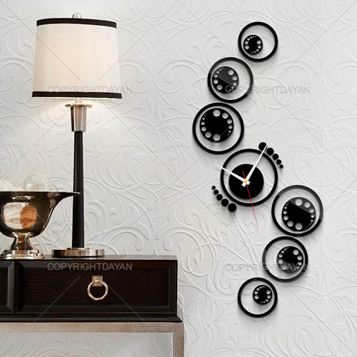 ساعت دیواری نارسیس  - پلکسی گلس براق