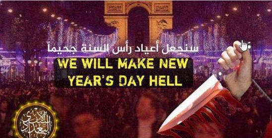 تهدید جدید داعش : « روز کريسمس را به جهنم تبديل می کنیم » + تصویر