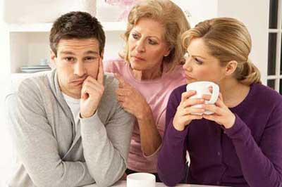 ازدواج به شرط زندگی با مادر شوهر
