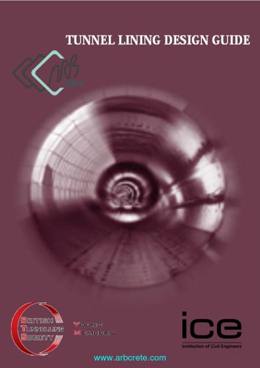 دانلود کتاب لاتین طراحی حائل ها در تونل سازی انجمن تونل بریتانیا