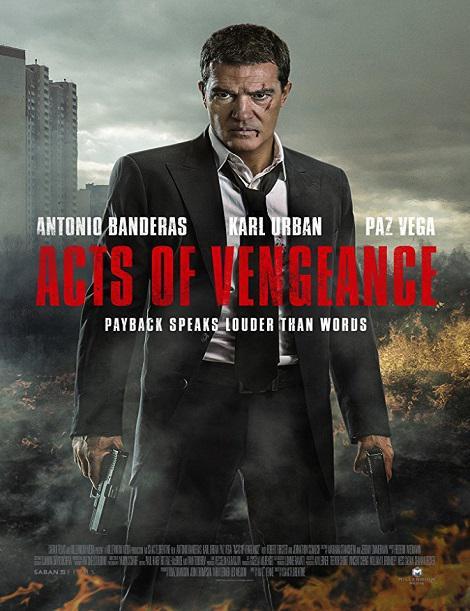 دانلود فیلم بازی انتقام 2017 Acts of vengence دوبله فارسی