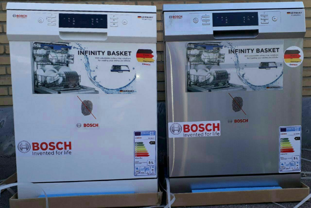 ماشین ظرفشویی بوش bosch ظرفیت 14 نفره 168 پارچه کم مصرف A+++