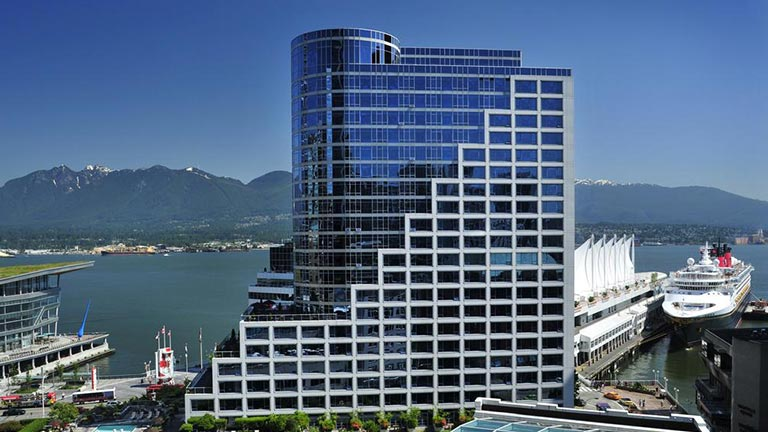 هتل فرمونت واتر فرانت ونکوور
