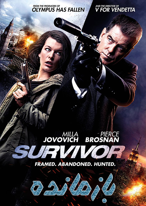 دانلود فیلم بازمانده Survivor 2015 دوبله فارسی