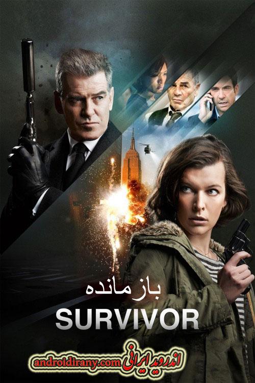 دانلود فیلم دوبله فارسی بازمانده Survivor 2015