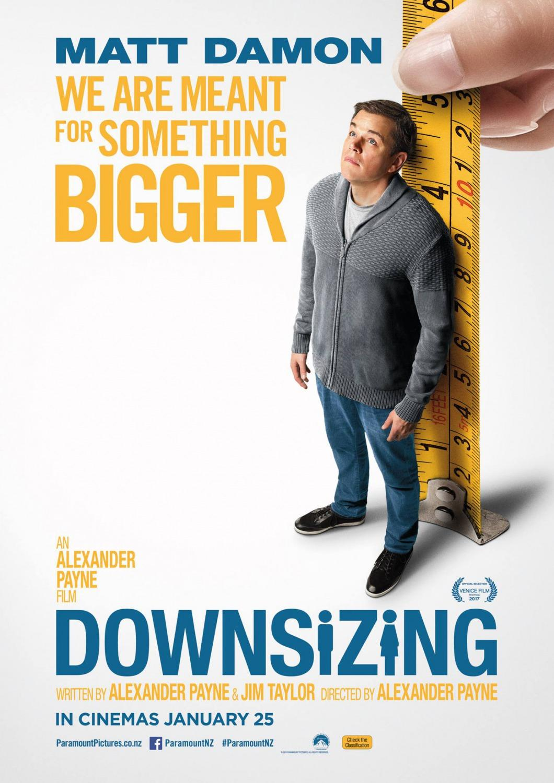 Downsizing+2017.1 1 دانلود فیلم Downsizing 2017 : کیفیت ۴K UHD BluRay REMUX HDR با حجم ۲۱ گیگابایت اضافه شد