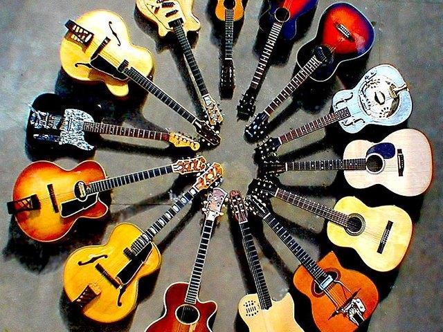 تاریخچه ی گیتار از ابداع تا به امروز