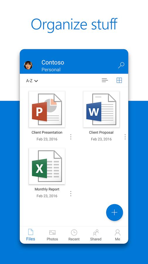 دانلود رایگان برنامه میکروسافت وان درایو Microsoft OneDrive