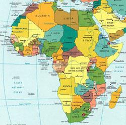 تعبیر خواب آفریقا