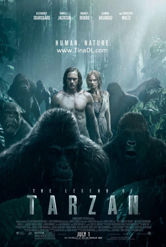 دانلود فیلم سینمایی افسانه تارزان - دوبله فارسی