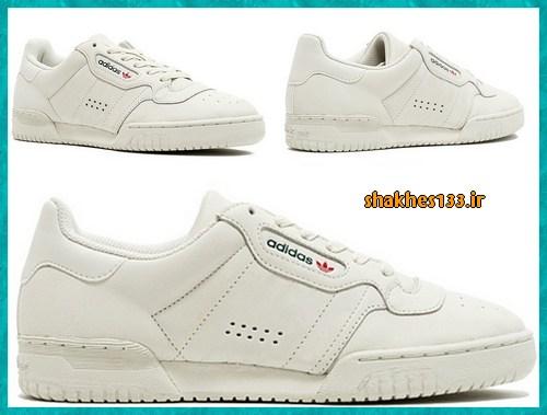 کفش فشن کتانی بندی پاییزی رنگ سفید دخترانه