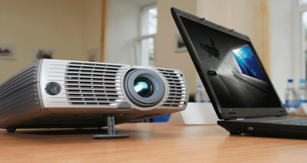 چرا تصویر کامپیوتر شما بر روی دیتا پروژکتور ارسال نمی شود؟