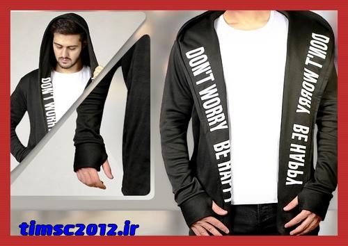 خرید ارزان قیمت شنل مردانه پسرانه رنگ مشکی زمستانی
