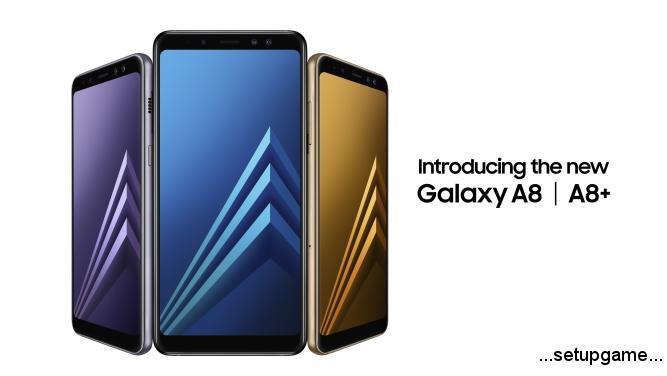 رونمایی سامسونگ از مدل ۲۰۱۸ گوشیهای Galaxy A8 و Galaxy A8+ با دوربین سلفی دوگانه و پشتیبانی از واقعیت مجاز