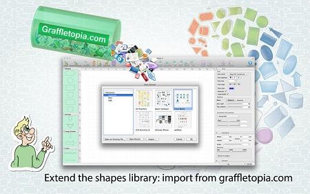 دانلود نرم افزار ساخت نمودار برای Mac - Diagrammix v2.15