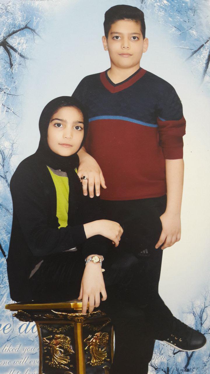 زهرا و رضا عاشورخانی