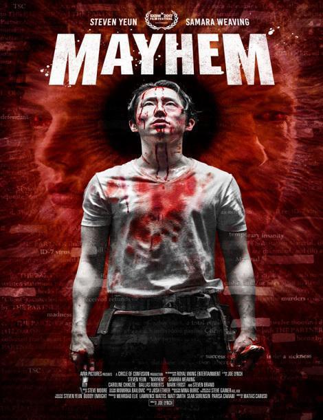 دانلود فیلم ضرب و شتم Mayhem 2017