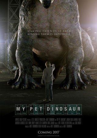 دانلود فیلم My Pet Dinosaur 2017 با لینک مستقیم