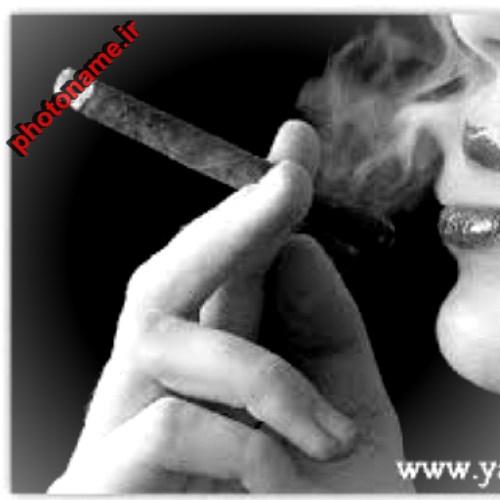 فیس بوک دختر سیگاری