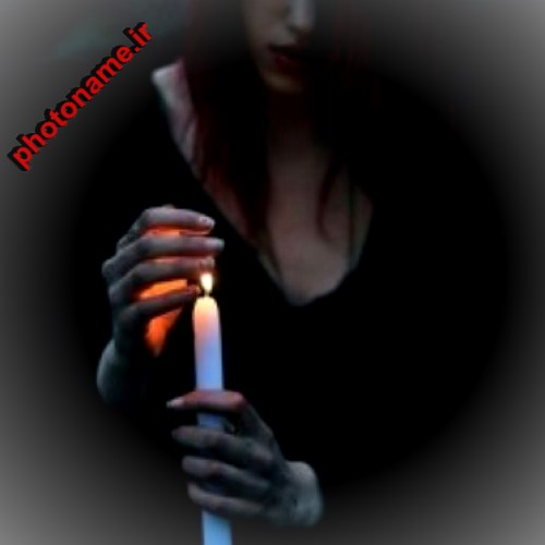 دختر و شمع