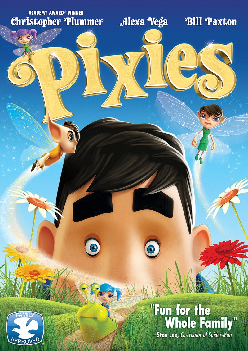 دانلود انیمیشن پری ها Pixies 2015