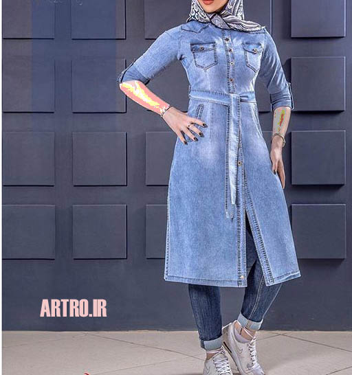 مدل مانتو لی دخترانه 2018-2019