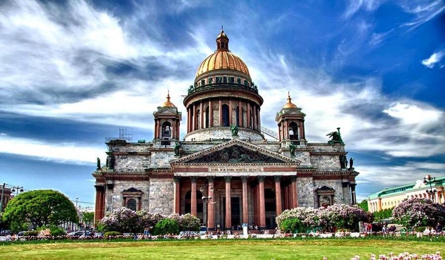 شهر سنت پترزبورگ روسیه