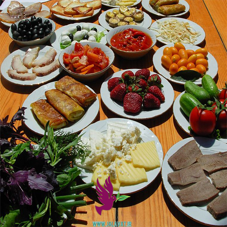 انواع خوردنی های حلال