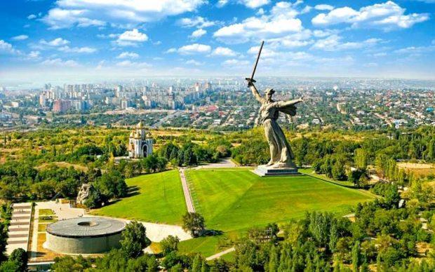 شهر ولگوگراد روسیه
