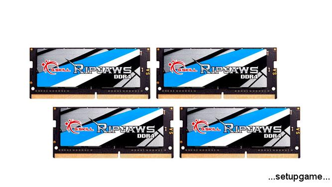 G.Skill سریعترین کیت حافظه 64 گیگابایتی DDR4 SO-DIMM دنیا را با فرکانس 3466 مگاهرتز معرفی کرد