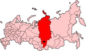 شهر کراسنویارسک روسیه