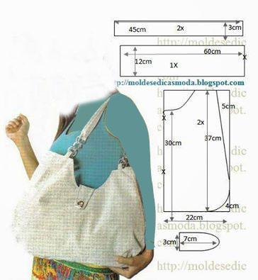 آموزش دوخت کیف پارچه ای با الگو,آموزش دوخت کیف پارچه ایی
