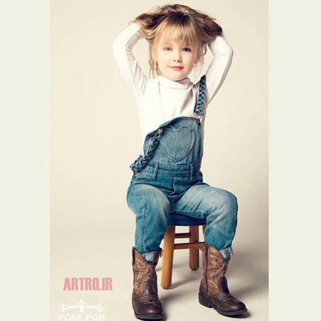 مدل لباس لی بچه گانه دختر 2018