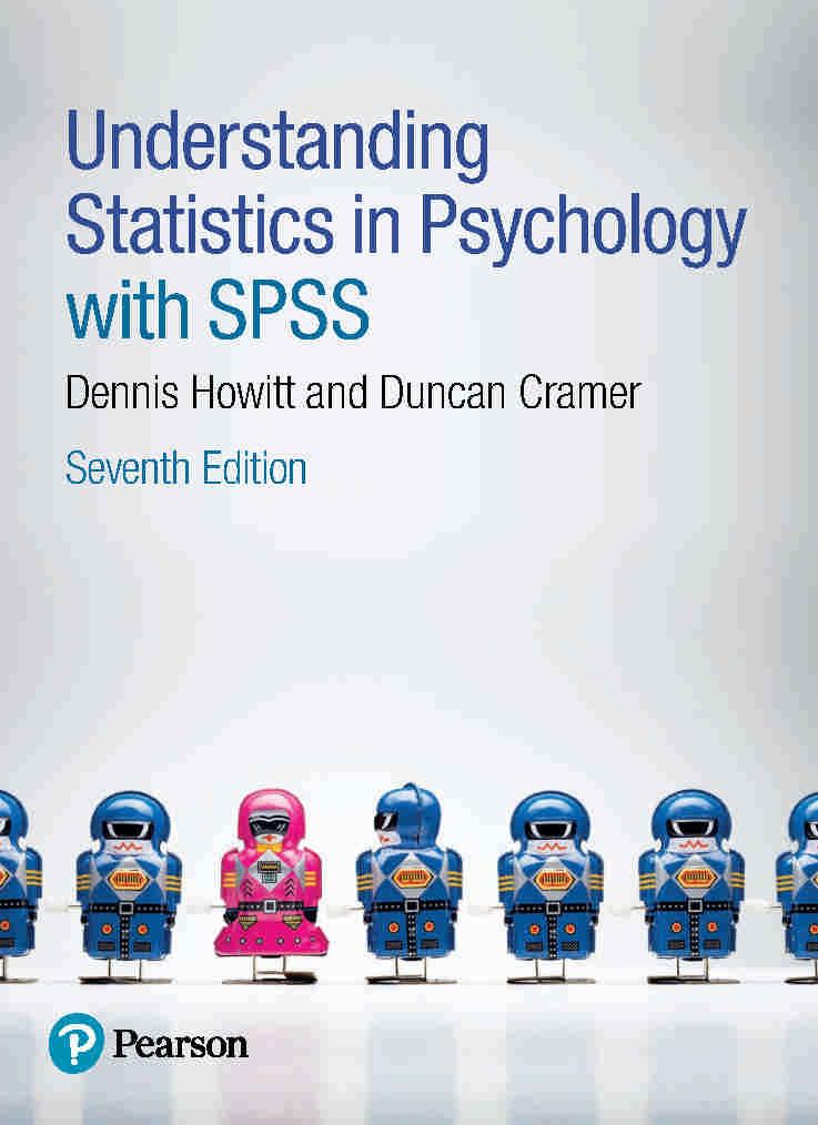 دانلود کتاب فهم آمار در روانشناسی با SPSS - ویرایش هفتم (2017)