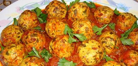 طرز تهیه کوفته مرغ خوشمزه با سبزیجات
