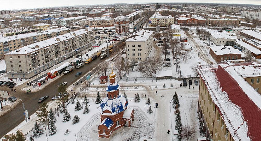 شهر اورنبورگ روسیه